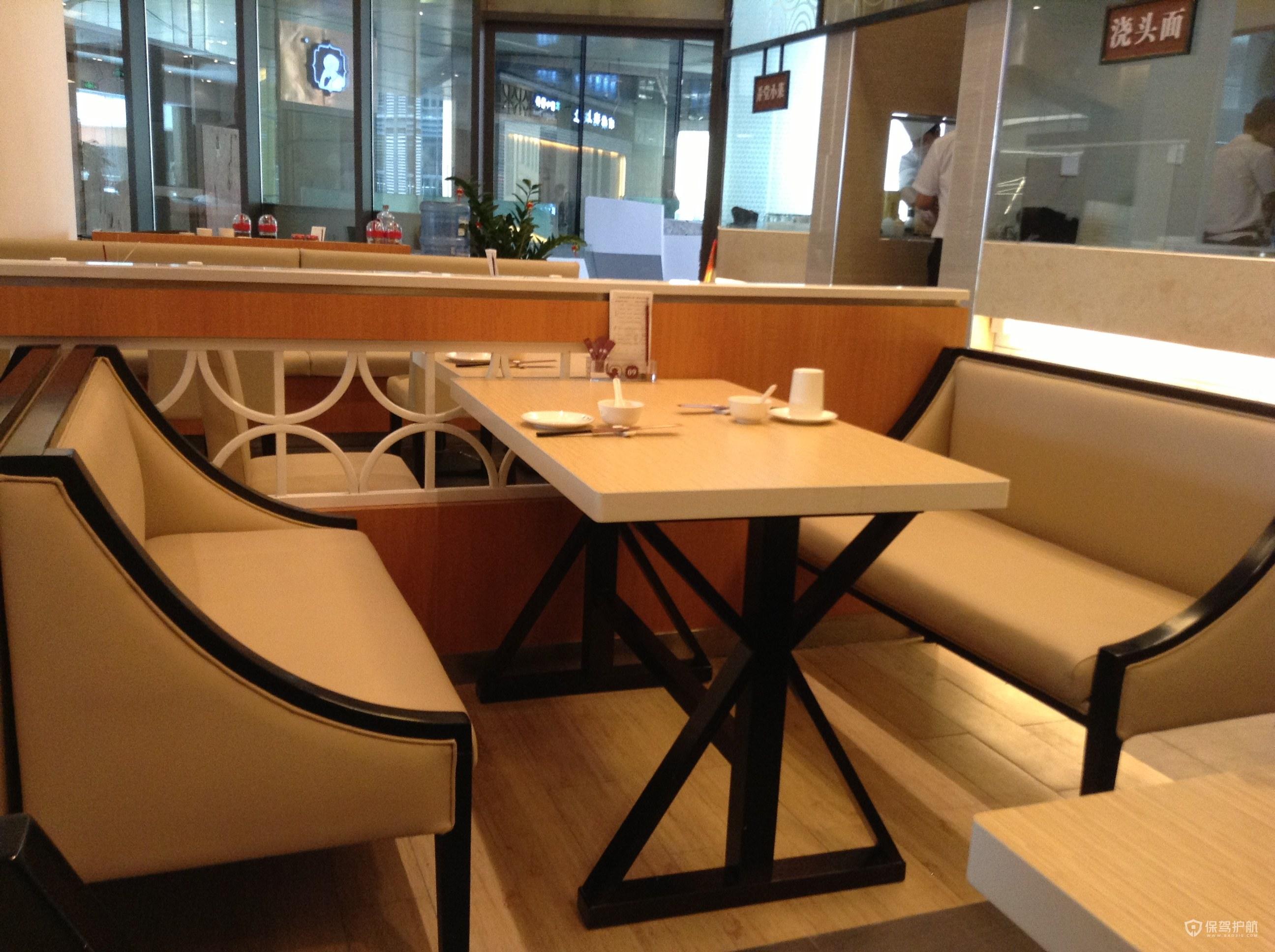 简欧开放式咖啡厅效果图