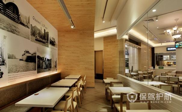 快餐店设计效果图