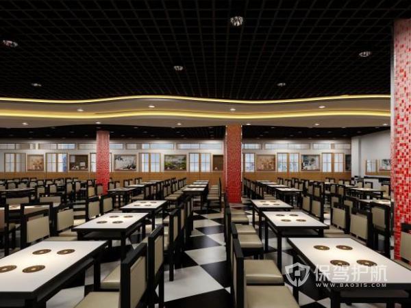 中式餐厅装修要多少钱 中式餐厅装修费计算方法