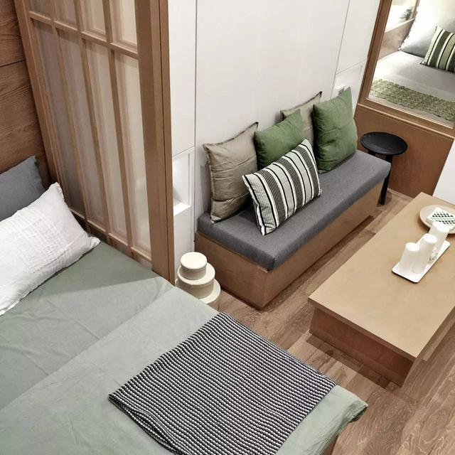 27平小户型也能装修成4室1厅!怎么利用错高和组合柜创