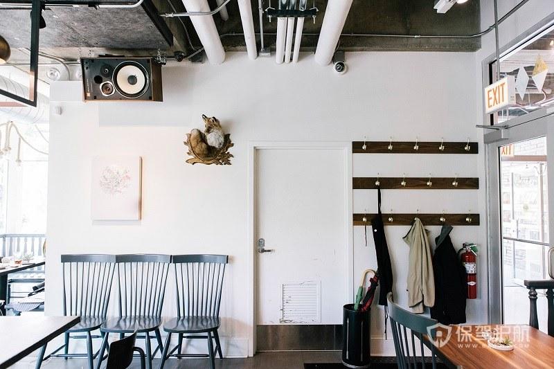 清新文艺北欧风咖啡厅效果图