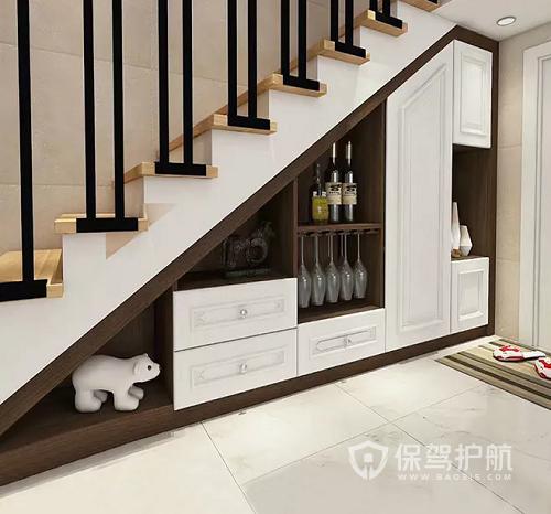楼梯鞋柜造型图-保驾护航