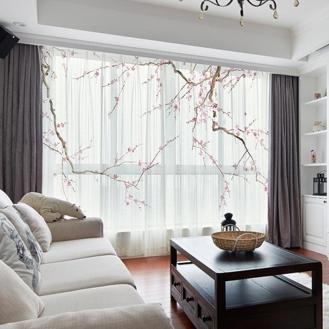 中式窗帘这么搭配,瞬间改善三居室氛围,打造高大上家居空间!