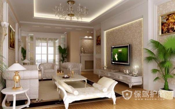 英伦欧式风格装修怎么做?英伦欧式客厅装修效果图