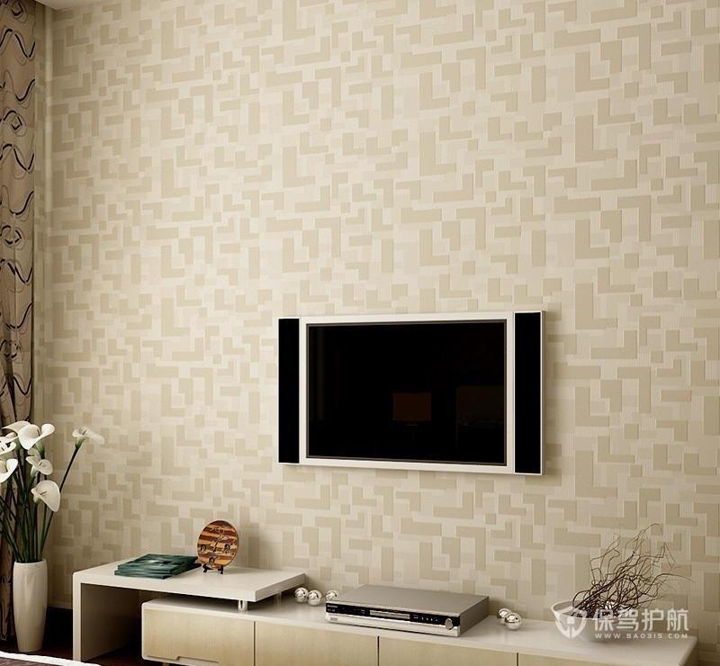电视背景墙用壁纸装饰好不好?壁纸要怎么挑选?电视背景墙壁纸效果图