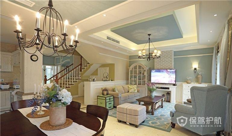 客厅吊顶天花的装修步骤有哪些?客厅吊顶天花装修效果图