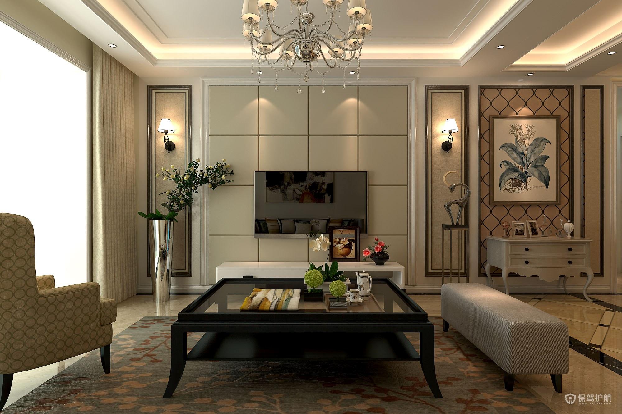 简欧客厅怎么装修?简欧客厅装修效果图-客厅装修心得