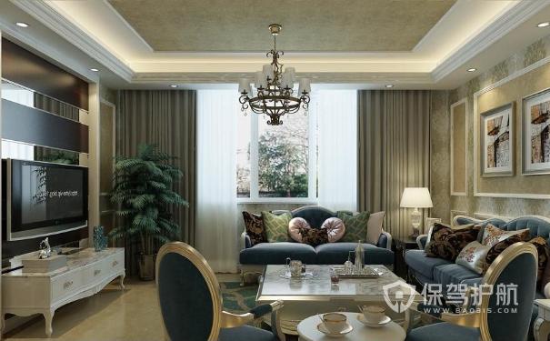 简欧客厅效果图,5款案例教你装修客厅