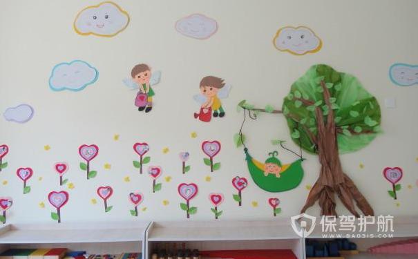 趣味幼儿园墙面设计