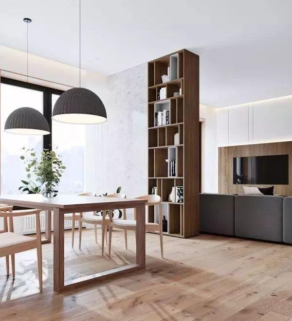 高颜值、高逼格的原木客厅地板装修案例,后悔家里装早了!