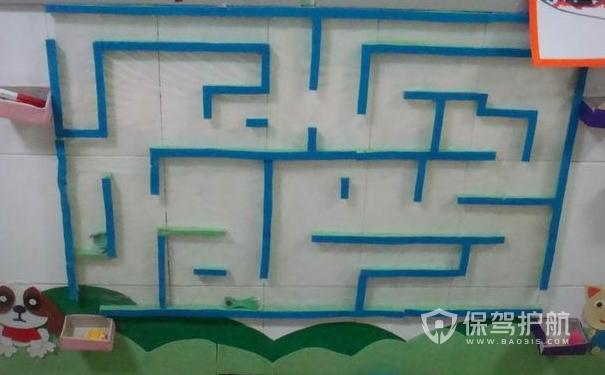 有趣的幼儿园墙面装修