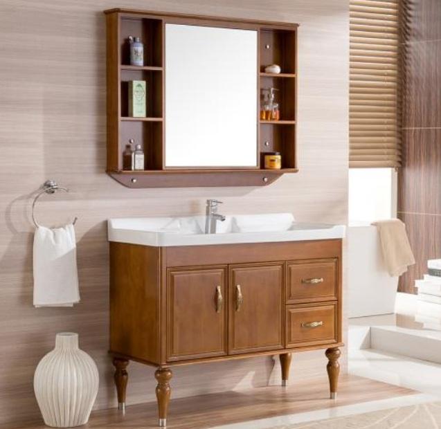 橡木浴室柜有哪些品牌? 橡木浴室柜选购技巧