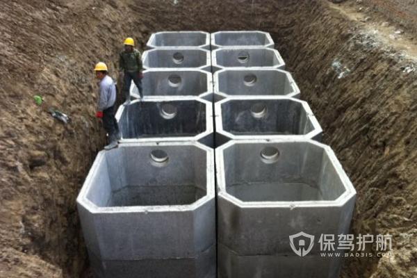 2019化粪池施工流程,2019小区化粪池装修效果