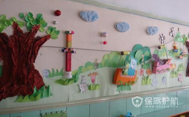 温馨幼儿园墙面设计