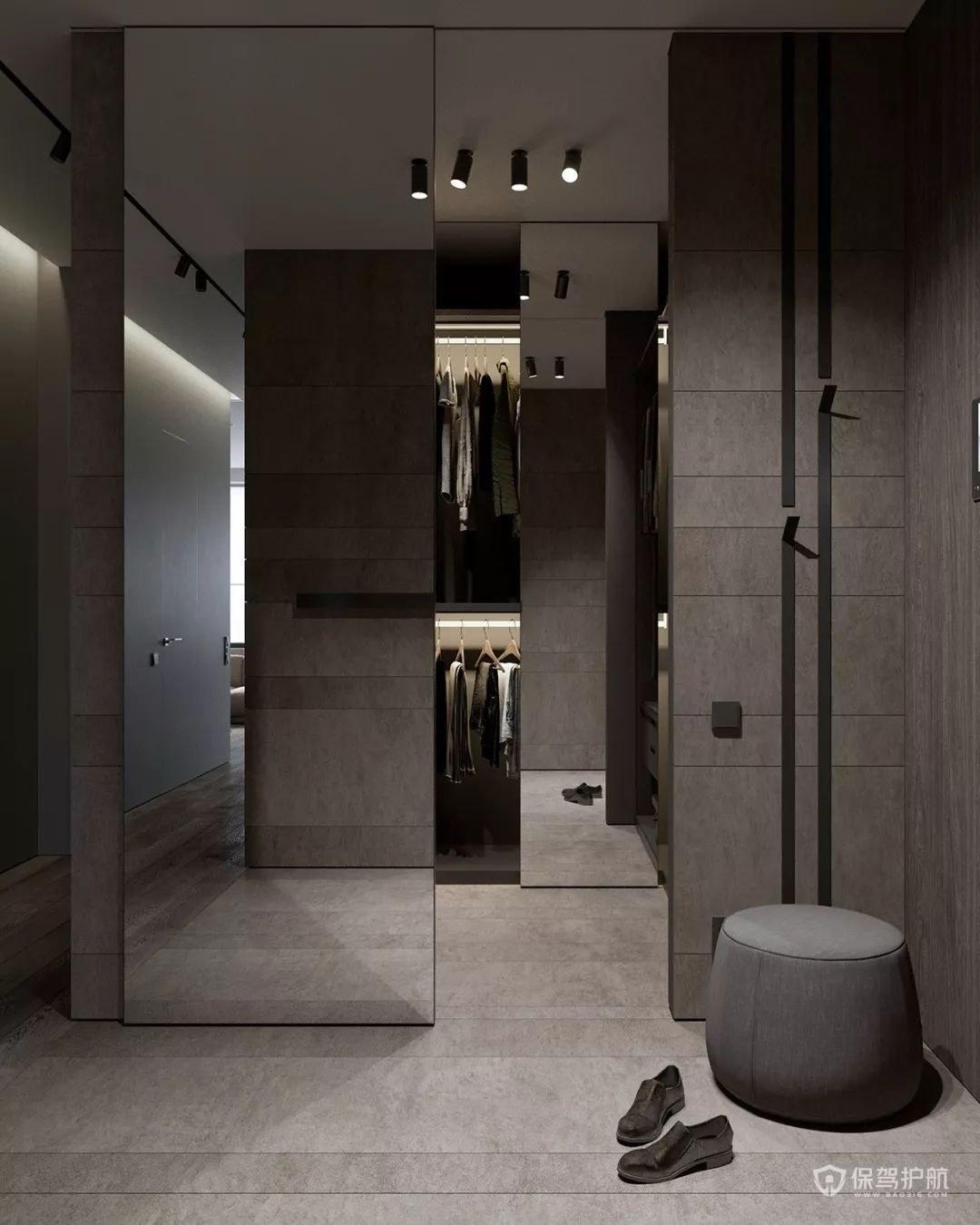 室内设计效果图,三室一厅装修案例