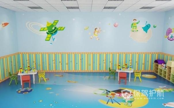 幼儿园墙面设计效果图