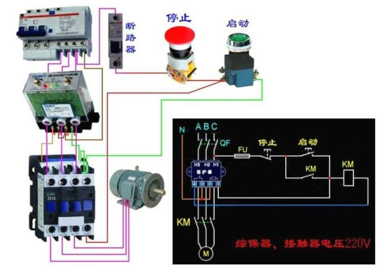 漏电断路器接法图解:漏电断路器接法是什么?