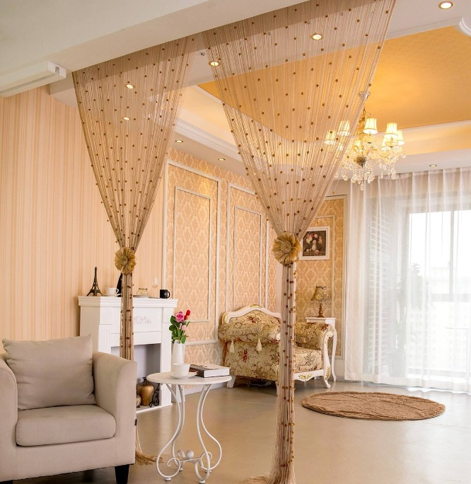 客厅卧室隔断效果图 客厅卧室隔断有哪些方法?