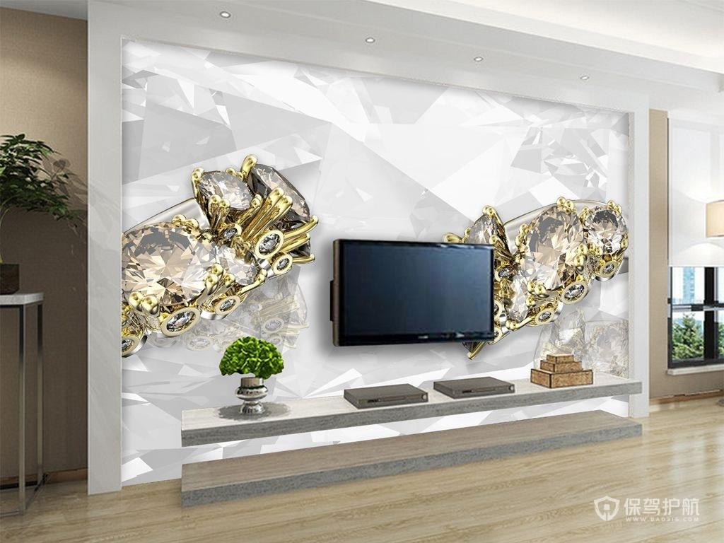 3d电视背景墙怎么做?3d电视背景墙效果图