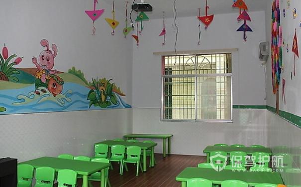 幼儿园装修实景设计