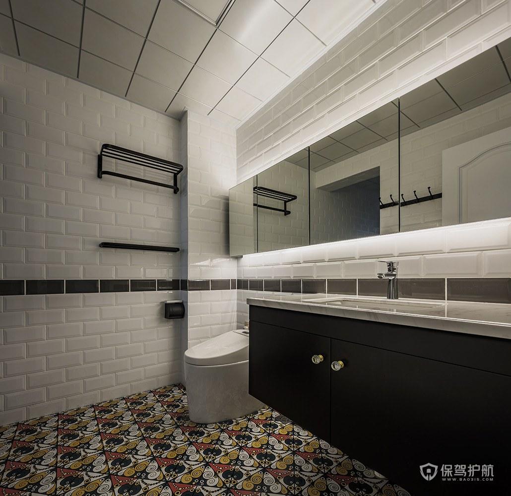 卫生间瓷砖选择技巧,卫生间瓷砖装修效果图