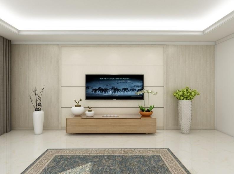 集成墙面电视背景墙有哪些优点? 集成电视背景墙效果图