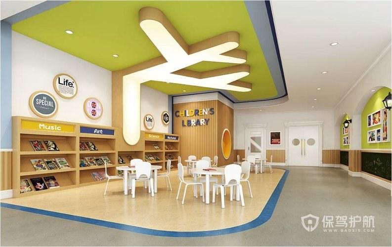 教室设计图片大全,高档幼儿园装修设计方案