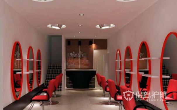 30平小理发店装修-保驾护航装修网