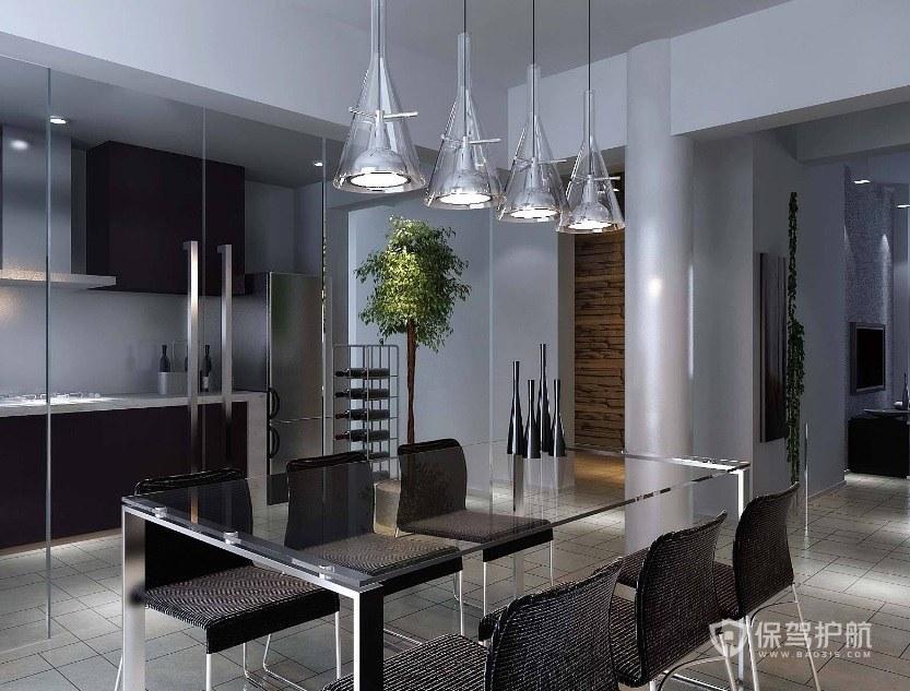 现代客厅吊灯效果图片-保驾护航