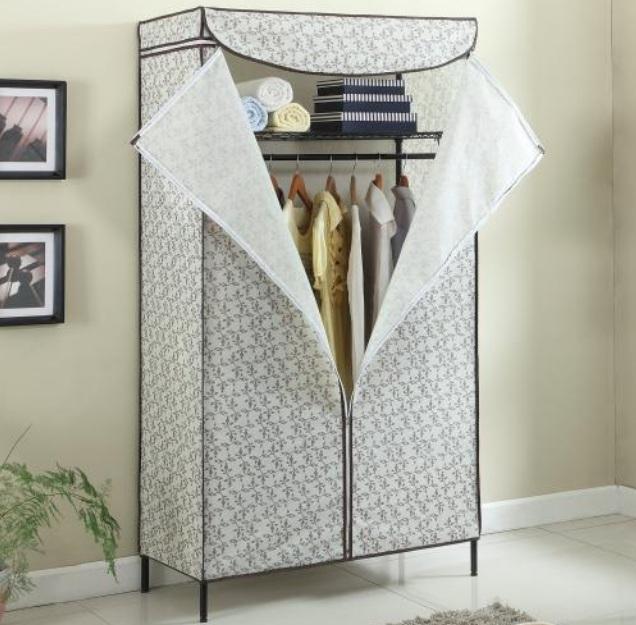 簡易布衣柜怎么安裝? 簡易布衣柜安裝步驟圖