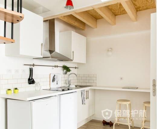 单身公寓小户型厨房装修效果图-保驾护航装修网
