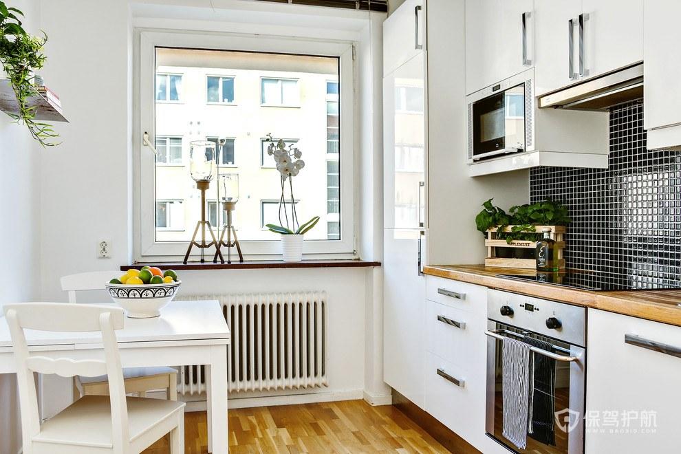 北欧风小户型厨房装修效果图-保驾护航装修网