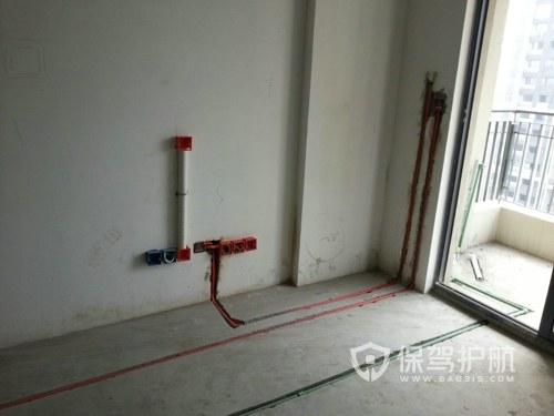 毛坯房水电走线安装图-保驾护航装修网