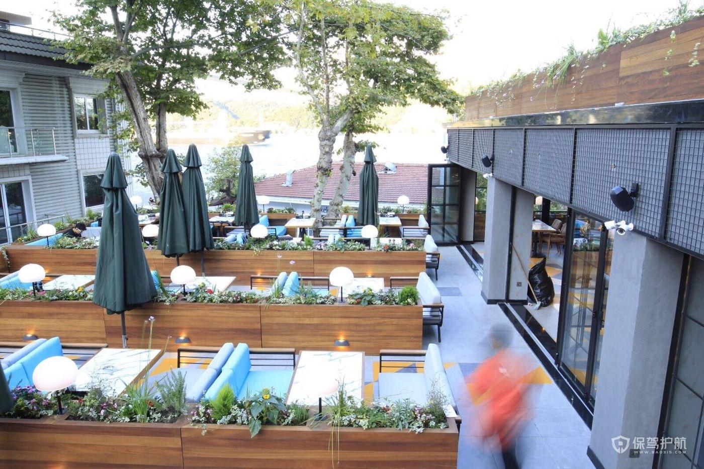 露台咖啡馆设计效果图