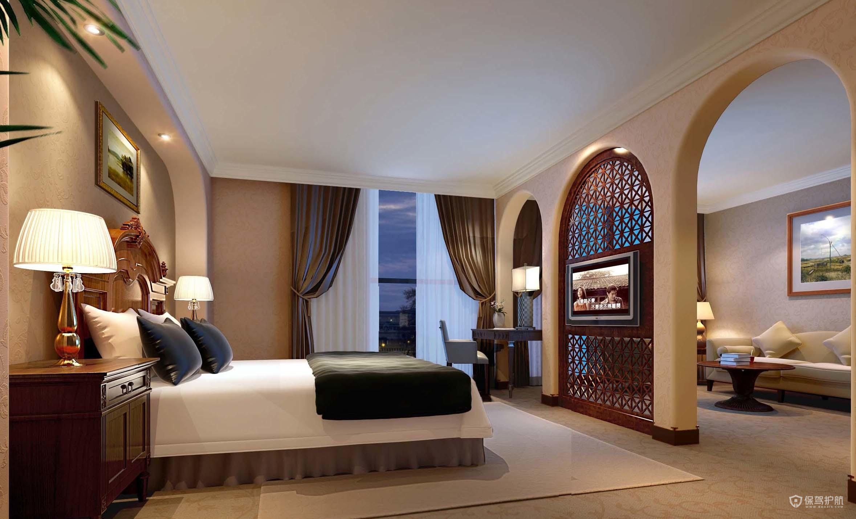 东南亚五星级酒店套间装修效果图