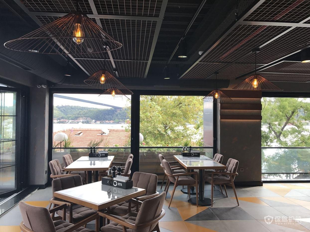 浪漫咖啡馆二楼设计效果图