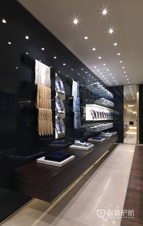 高级时尚简约现代服装店室内设计
