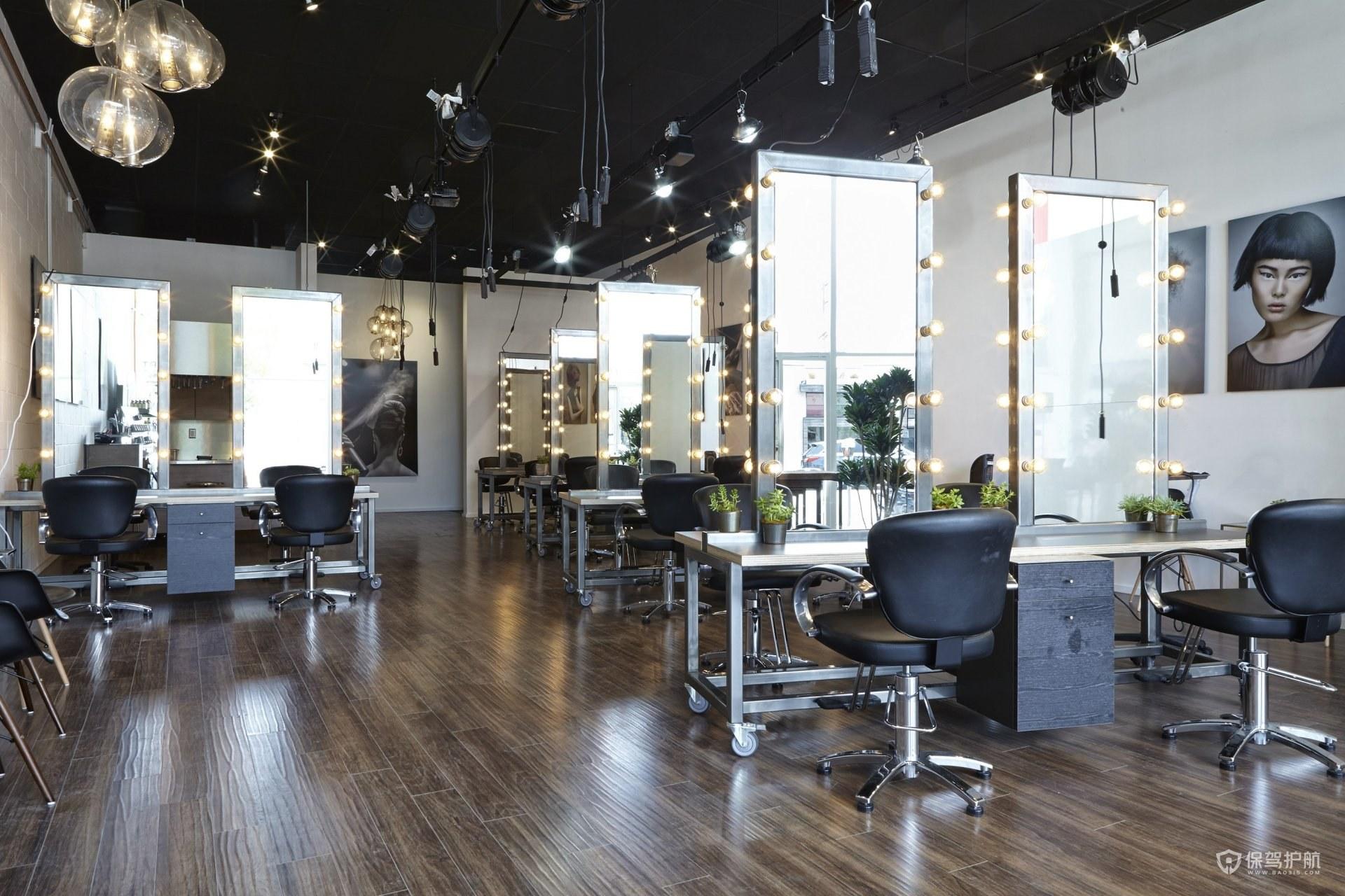 30平小理发店装修风格有哪些?30平小理发店装修效果图