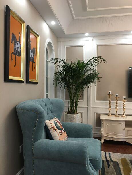 简欧风格设计的三居室