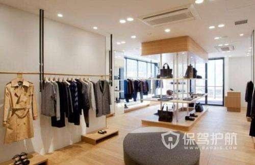 韩式女装店铺装修实景图