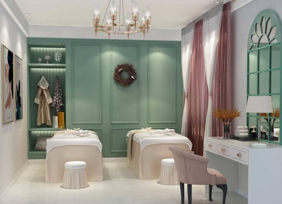 美容院现代装修风格效果图 美容店装修有哪些风格?