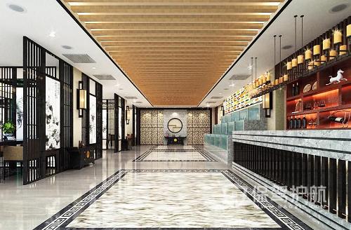 欧式酒店大堂装修效果图-保驾护航