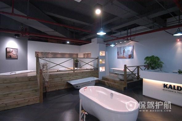 卫浴展厅效果图-保驾护航装修网