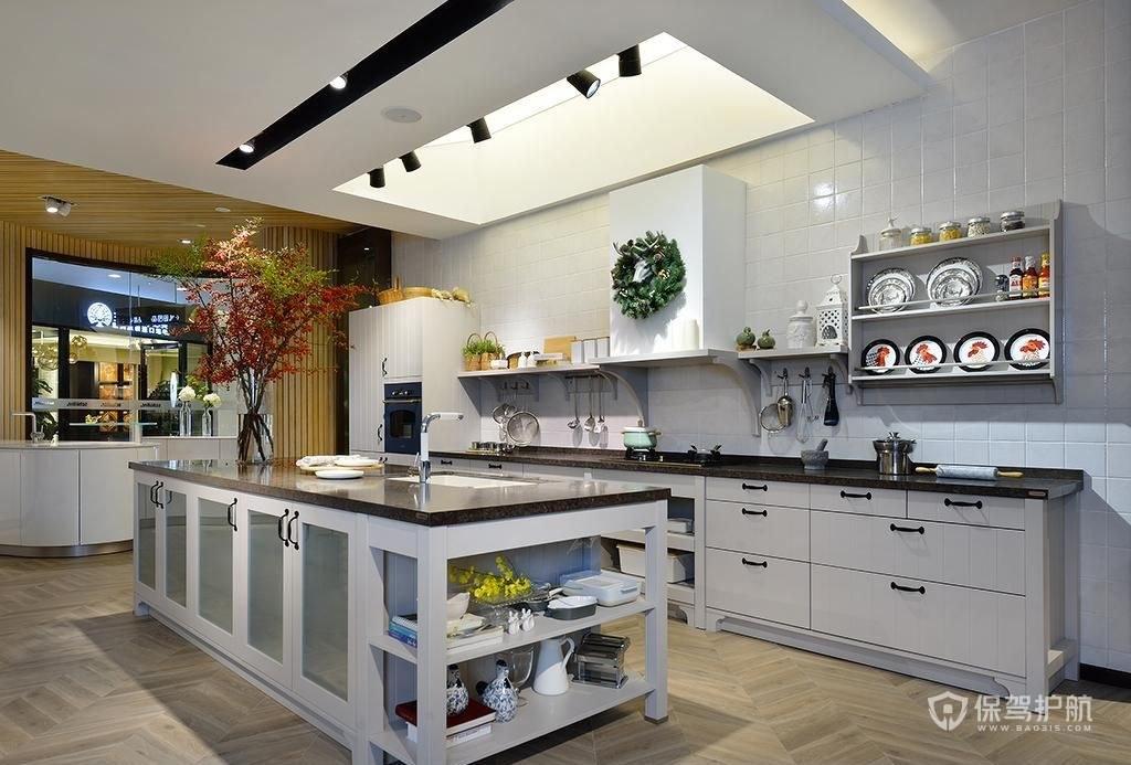 厨房展厅效果图-保驾护航装修网