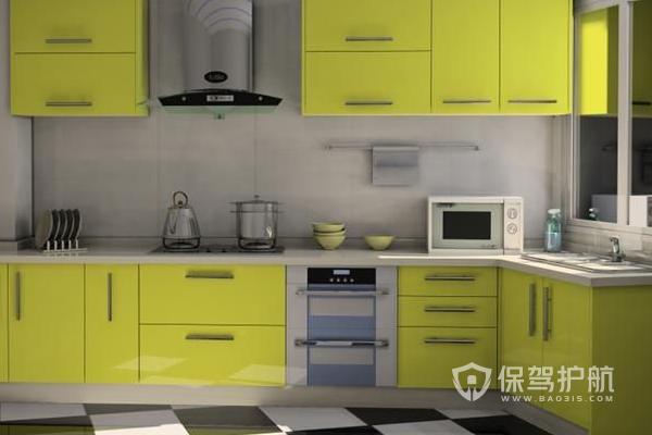 厨房设计效果图-保驾护航装修网