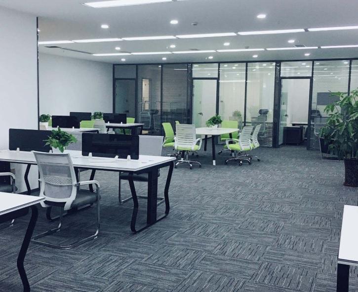 办公室地面设计啥样好看? 办公室地面材料铺什么好?