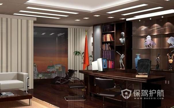 有格调的办公室装修-保驾护航装修网