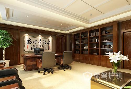 领导办公室软装效果图 办公室装修设计规范是怎样的?