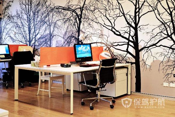 办公室墙面设计效果图-保驾护航装修网