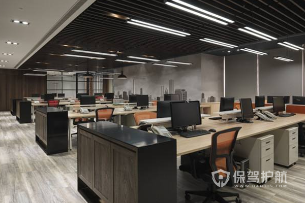 办公室设计效果图-保驾护航装修网
